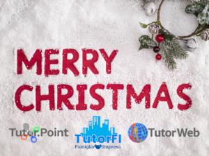 Tantissimi auguri di un sereno Natale da tutto lo staff Tutor Famiglia e Impresa!