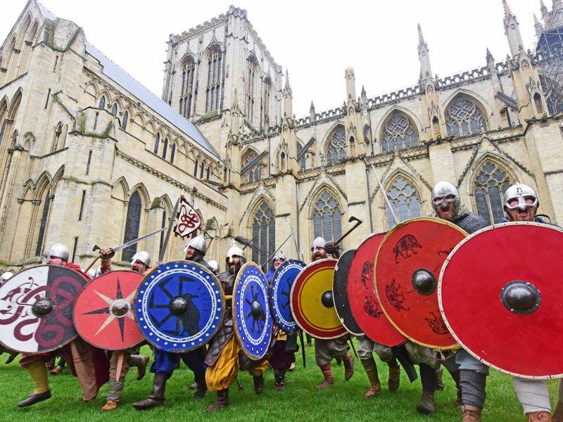Un viaggio a York per il Jorvik Viking Festival